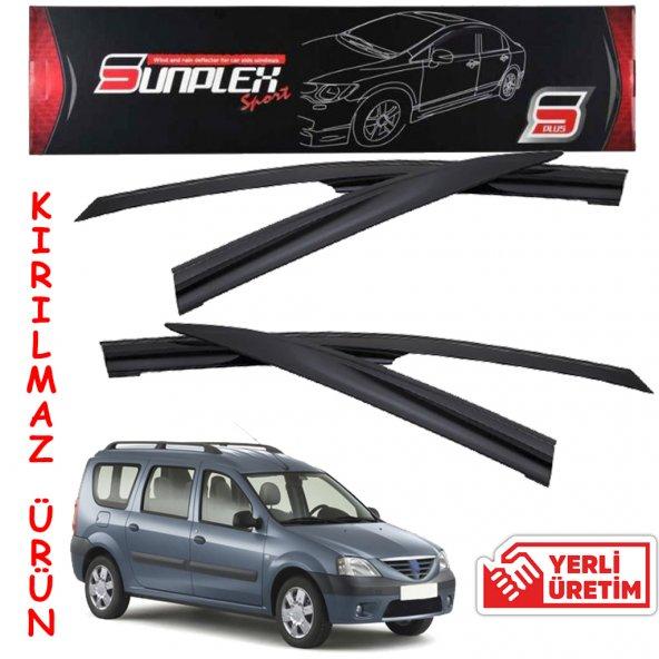 Dacia Logan MCV 1.Kalite Kırılmaz Sport Oto Cam Rüzgarlığı