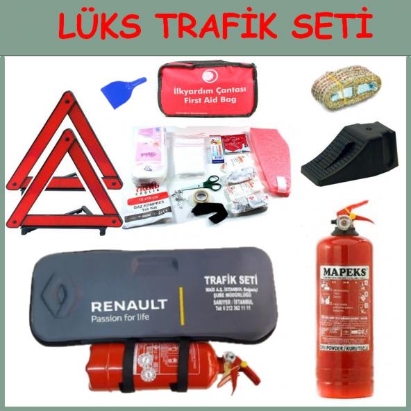 Araç Logolu Trafik Seti-4 Yıl Tüvtürk Muayeneye Uygun