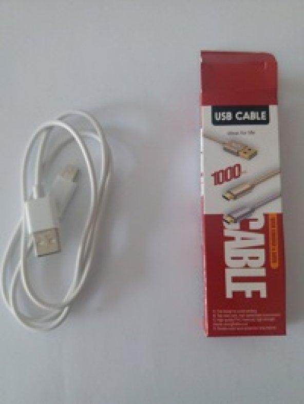 USB ŞARJ KABLOSU 1000mm