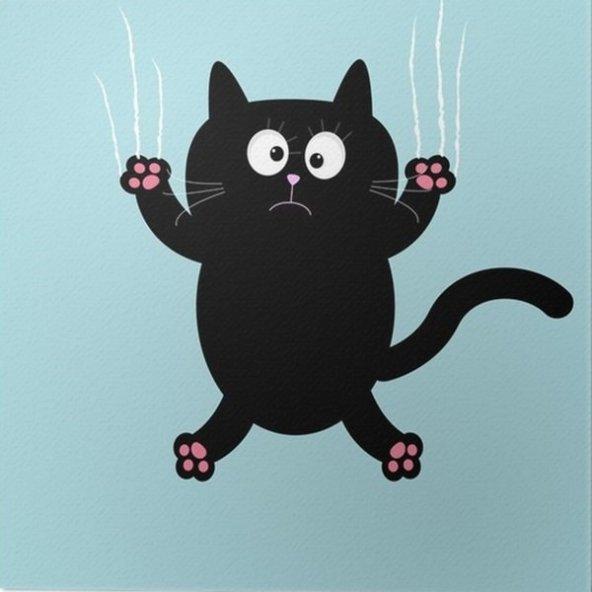 Amoor Hasır İpli Kedi Balık Oyuncağı 10,5 cm Mor-Pembe