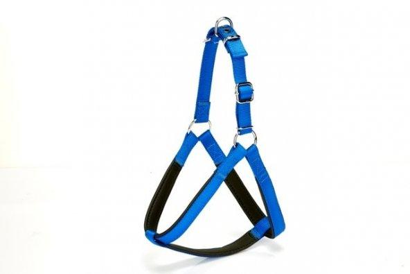 Doggie Köpek Göğüs Tasması 90 cm XXLarge Mavi