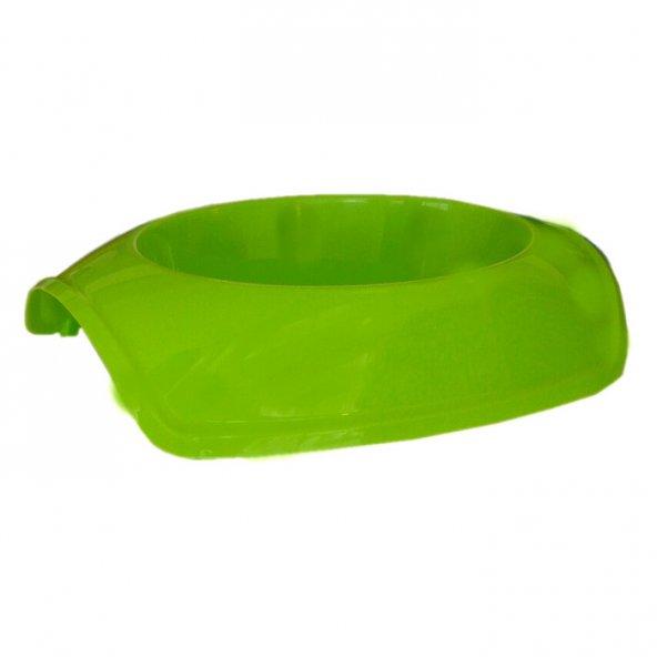 Cado Pet Plastik Kedi Köpek Mama Su Kabı 600 ml Yeşil