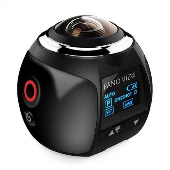 AngelEye KS-507 360 Derece Experience Ultra HD Wifi Panaromik Aksiyon Kamera