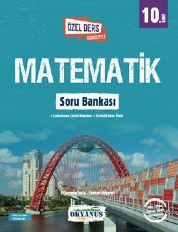 Okyanus Yayıncılık 10. Sınıf Matematik Soru Bankası