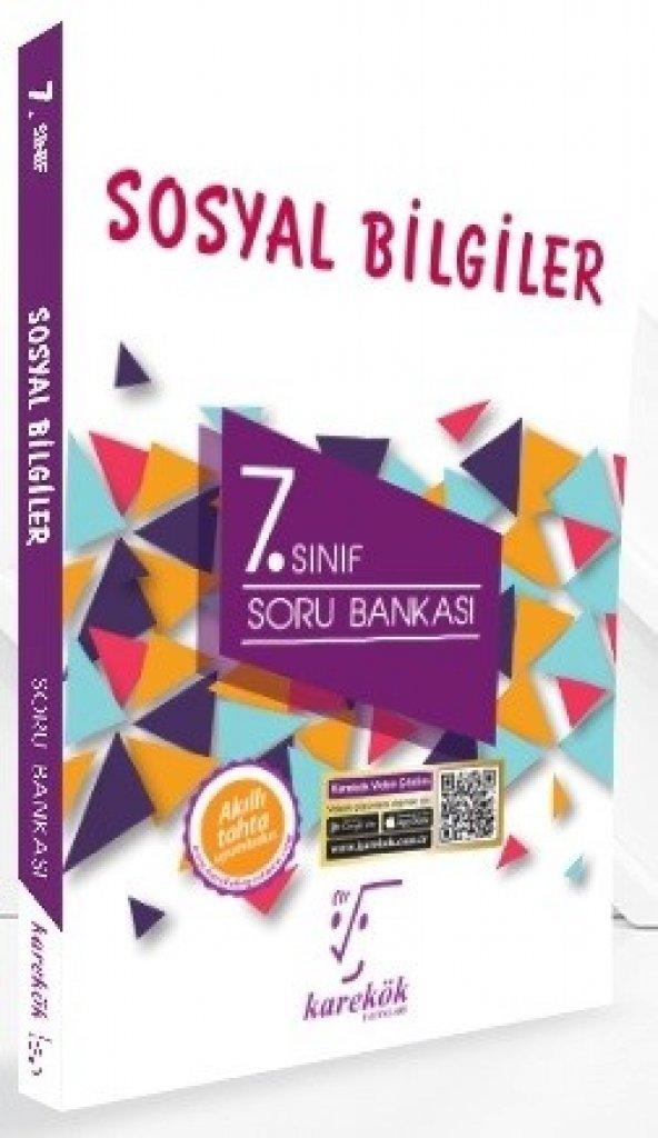 Karekök Yayınları 7. Sınıf Sosyal Bilgiler Soru Bankası