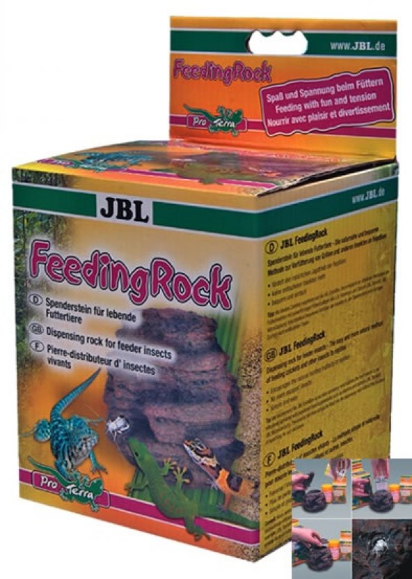JBL FEEDING ROCK BESLENME KAYASI