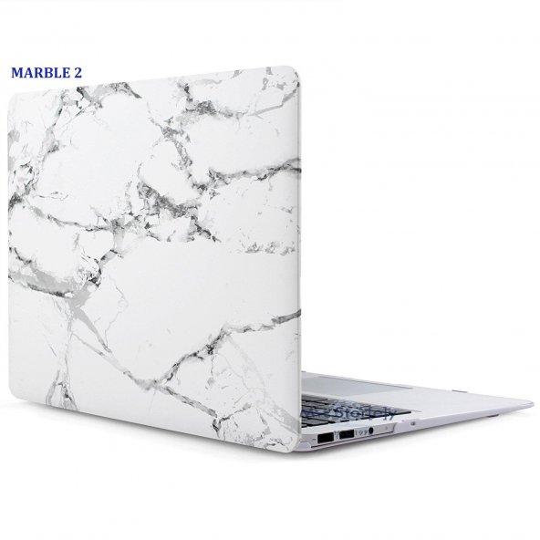 Apple MacBook Pro 13 inç A1278 Koruyucu Kılıf Hard ınCase Mermer