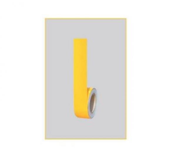 Yapışkanlı Zemin İşaretleme Reflektif Bantlar-Sarı