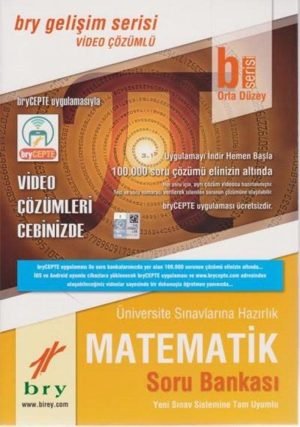 Birey Yayınları B Serisi Orta Düzey Matematik Soru Bankası