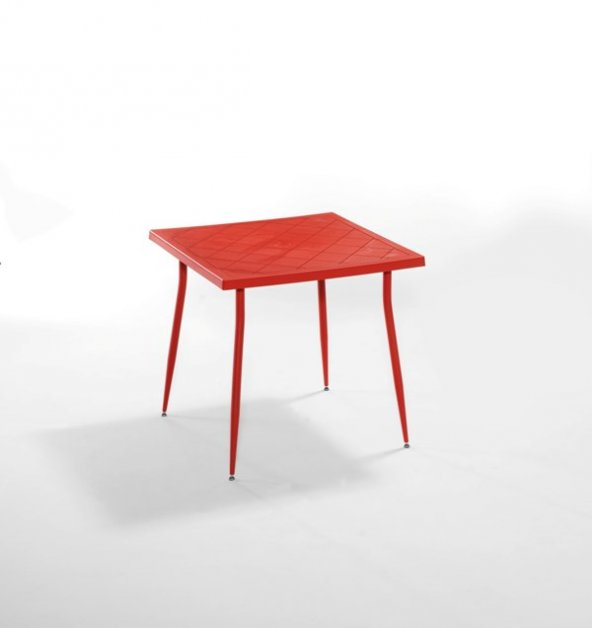 Carmen 80X80 Masa Kırmızı