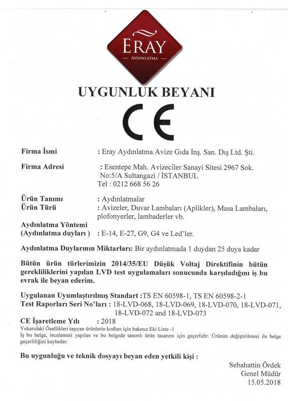 Eray Aydınlatma ERY 3729-28-03Y Küp 3 lü Siyah Avize
