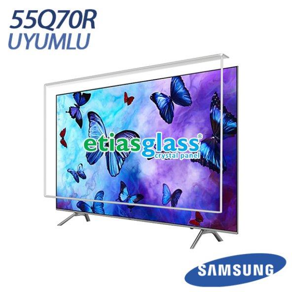 Samsung 55Q70RTv Ekran Koruyucu / Ekran Koruma Camı Etiasglass