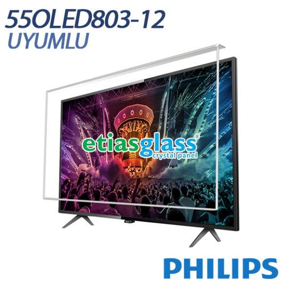Philips 55OLED803-12Tv Ekran Koruyucu / Ekran Koruma Camı Etiasglass