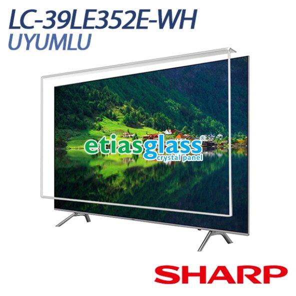 Sharp LC-39LE352E-WH Tv Ekran Koruyucu / Ekran Koruma Camı Etiasglass