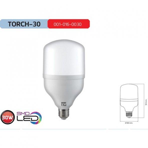 Horoz Torch30 6400K Beyaz Işık 30 Watt Led Ampül