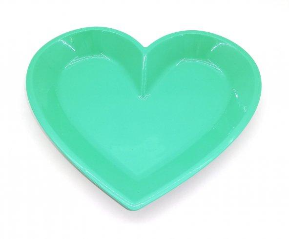 6'lı Kalp Tabak