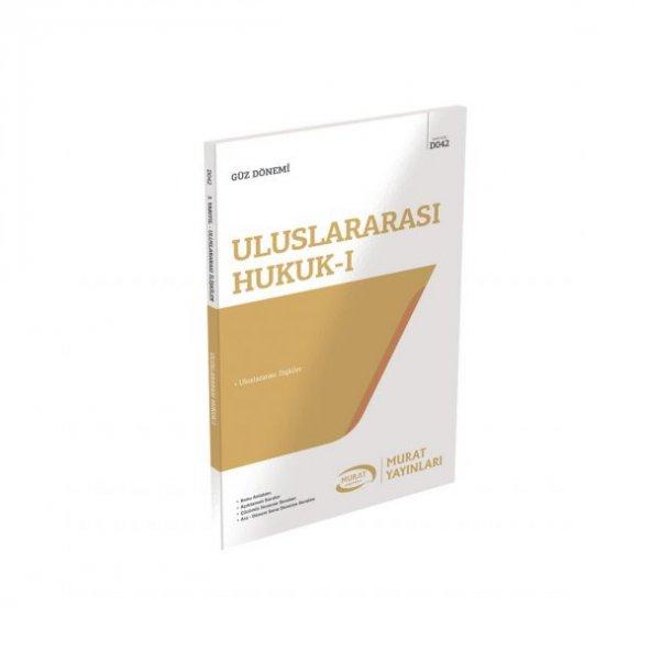 Aöf Uluslararası Hukuk - I  güz dönemi Konu Anlatımlı Soru Kitabı Tek  Murat Yayınları