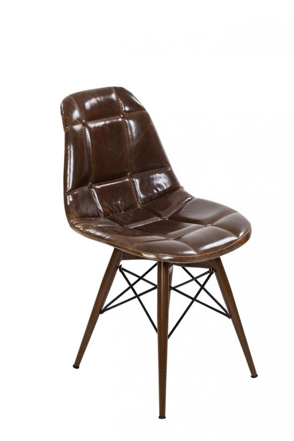 Wenge Meysa Şık Mutfak Sandalyeleri