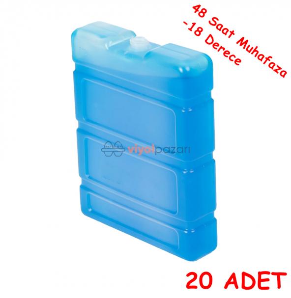 Buz Aküsü -18 Derece Özel Ürün (26x16x4)cm 20 Adet