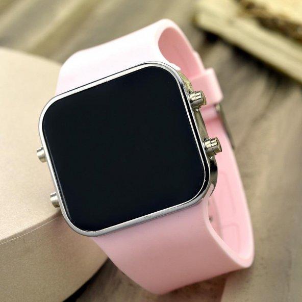Dijital Bayan Genç Kadın Led Kol Saat Spectrumwatch Silikon Bileklik ST-303446
