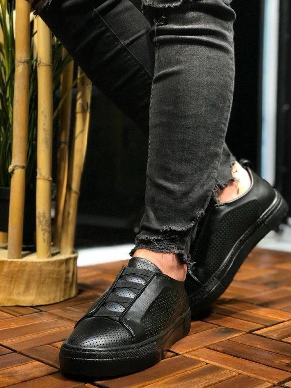Chekich CH011 ST Erkek Ayakkabı SİYAH