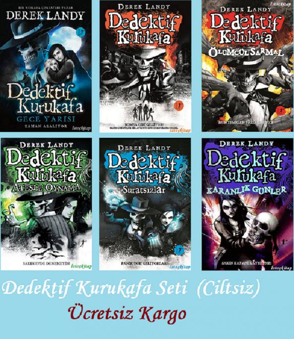 Dedektif Kurukafa Seti (Ciltsiz)  ( 6 Kitap) - Artemis Yayınları