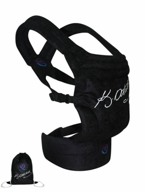 ErkaBaby Taşıma Çantalı Ekstra Güvenli Ergonomik Kanguru 04
