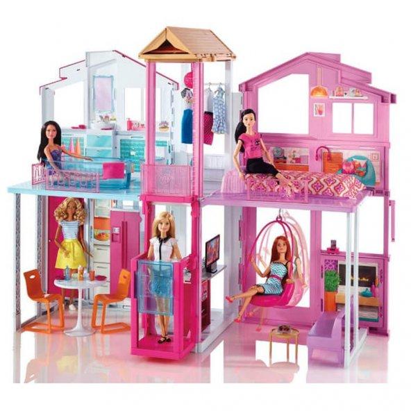 DLY32 Barbienin Muhteşem Malibu Evi /Barbienin Hayatı