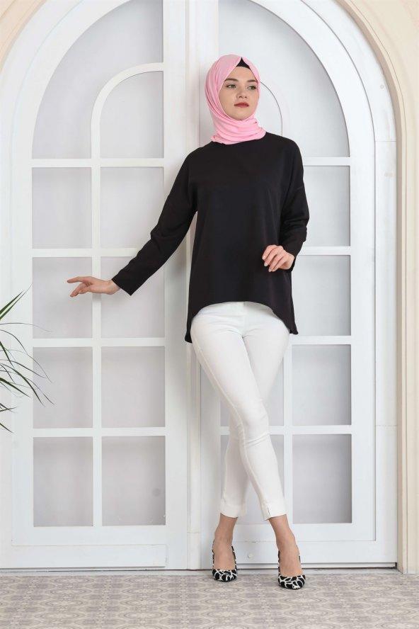 Salaş Siyah Bluz