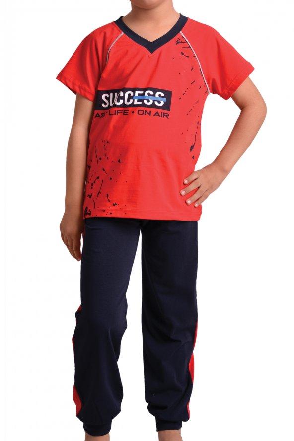 Erkek Çocuk Pjm Tkm Kısa Kol