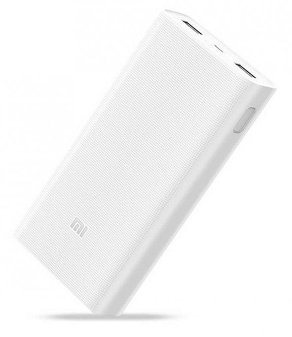 Xiaomi 20.000mAh Quick Charge 3.0 Powerbank Beyaz PLM06ZM
