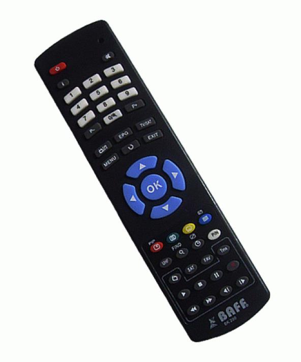 BAFF FULL HD 2000 Orjinal Kumanda - Kargo Ücretsiz