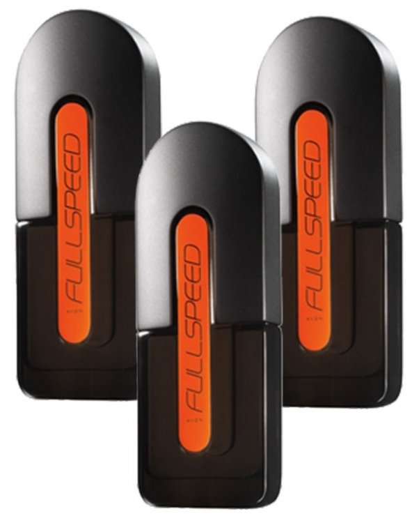Avon Full Speed 75 Ml Erkek Parfüm 3lü Set
