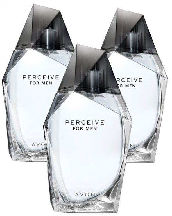 Avon Perceive Erkek Parfüm Edt 100 Ml. 3lü Set