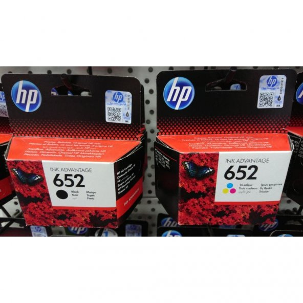 HP 652 F6V25AE/F6V24A SİYAH VEYA RENKLİ ORJİNAL KARTUŞ (2021)