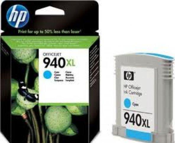 HP C4907AE NO:940XL C MÜREKKEP KARTUŞ 1.400 SAYFA MAVİ
