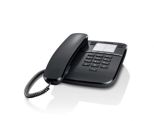 SİEMENS GİGASET DA310 KABLOLU MASAÜSTÜ TELEFON SİYAH RENK