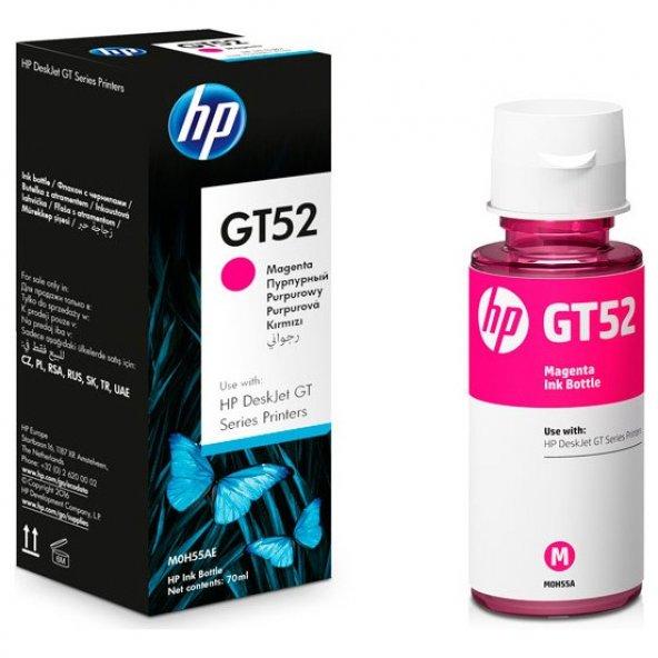 HP M0H55AE (GT52) MACENTA ŞİŞE MUREKKEP KARTUSU 8.000 SAYFA