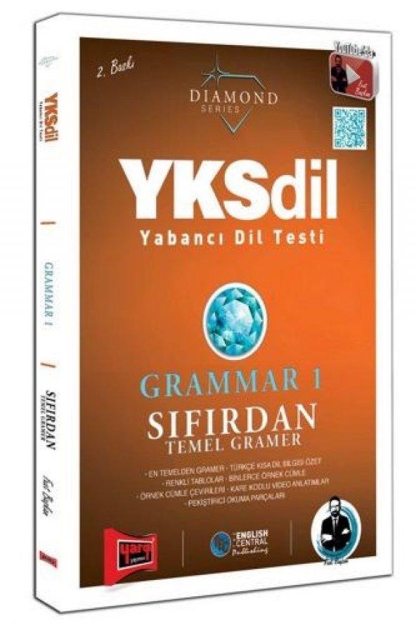 Yargı Yayınları YKSDİL Yabancı Dil Testi Grammar 1 Sıfırdan Temel Gramer