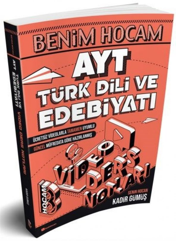 Benim Hocam Yayınları AYT Türk Dili ve Edebiyatı Video Ders Notları