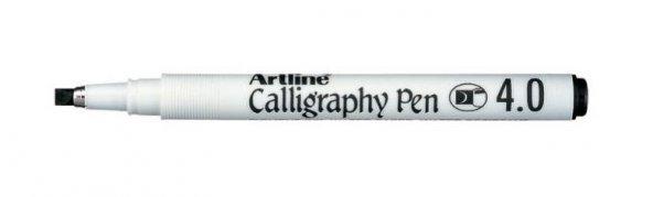 ARTLINE KALİGRAFİ KALEMİ 4.0MM ERGOLINE 244 SİYAH ÜCRETSİZ KARGO