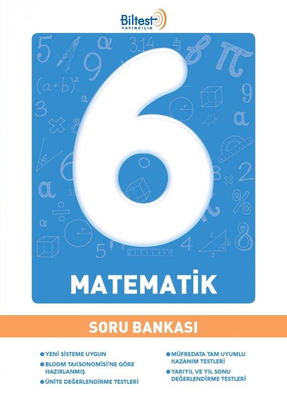 BİLFEN 6. SINIF MATEMATİK SORU BANKASI