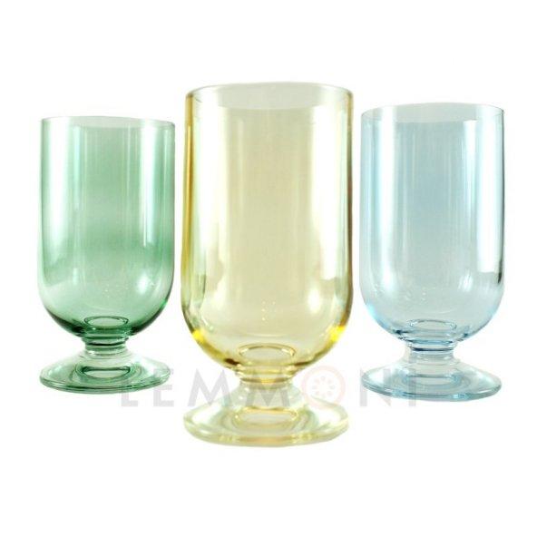 Bohemia Emirates Kahve Yanı Su Bardağı 6lı Renkli Mix 150cc