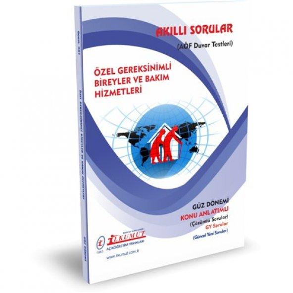 AÖF ilkumut yayınları özel gereksinimli bireyler ve bakım hizmetleri güncel konu anlatımlı soru bankası