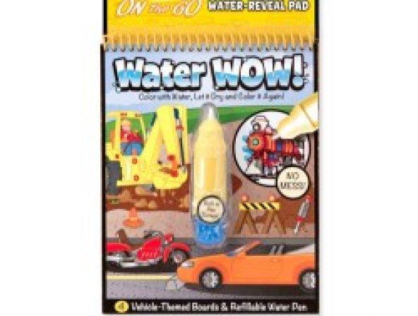 Magic Water 4 Sayfa Araba Boyama Seti