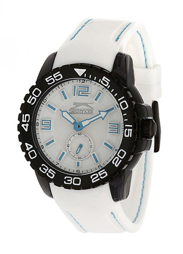 Slazenger SL.18.715.2.01 Beyaz Silikon Unisex Kol Saati