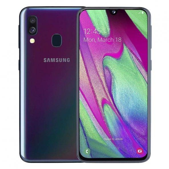 SAMSUNG GALAXY A40 64GB CEP TELEFONU (İTHALATÇI FİRMA GARANTİLİ)