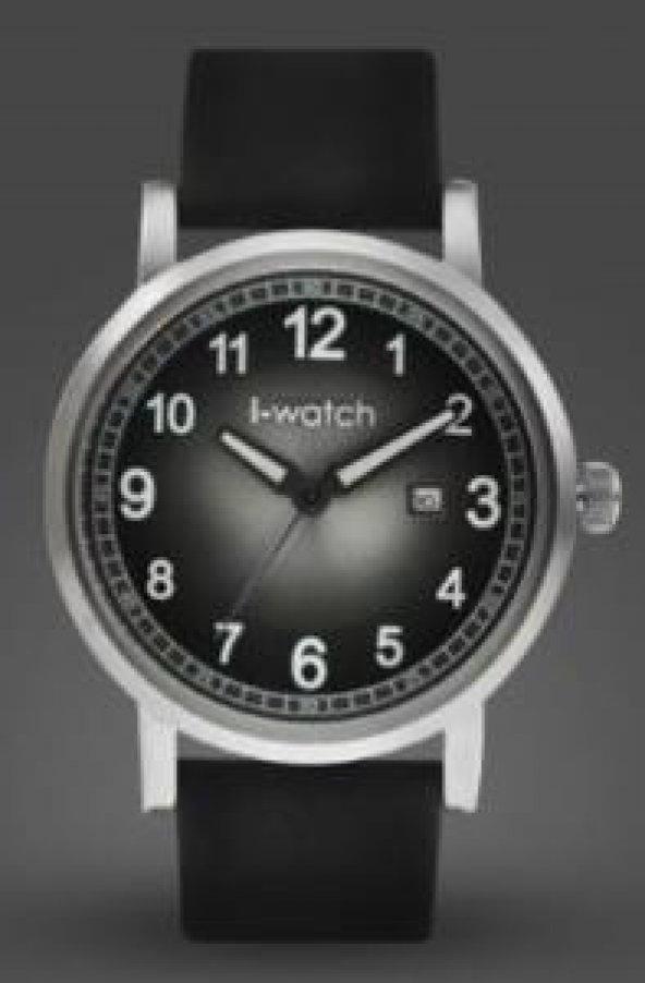İ-Watch 55425 Eskitme Retro Unisex Kol Saati