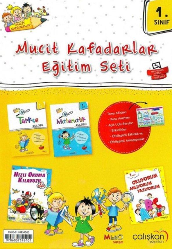 Çalışkan Yayınları 1.Sınıf Mucit Kafadarlar Eğitim Seti