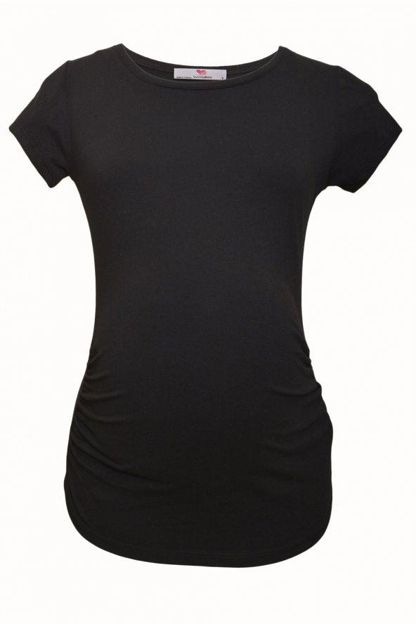LuvmaBelly  Maternity 2009_2015 Pamuklu Hamile (7 Renk Mevcut) T-shirt
